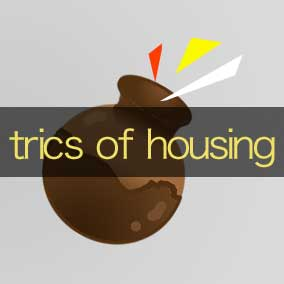 a trick of housing